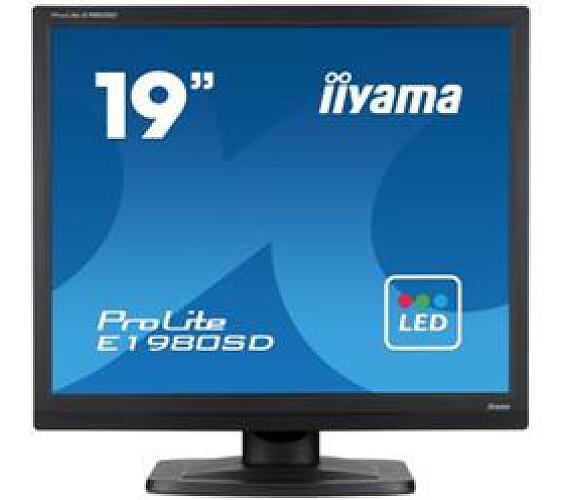 iiyama Prolite E1980SD-B1 - 5ms + DOPRAVA ZDARMA