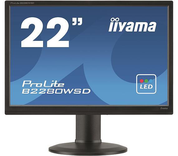 iiyama B2280WSD-B1 - 5ms + DOPRAVA ZDARMA