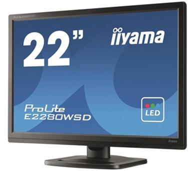iiyama E2280WSD-B1 - 5ms + DOPRAVA ZDARMA
