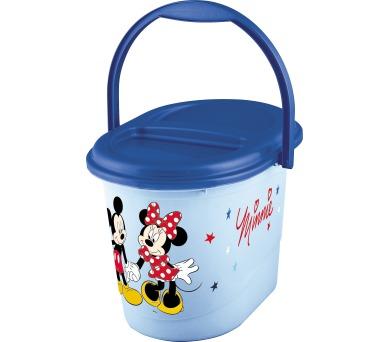 "Keeeper Koš na pleny karol ""Mickey"" modrý"