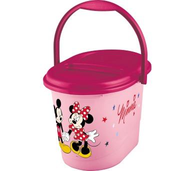 """Keeeper Koš na pleny karol """"Minnie"""" růžový"""