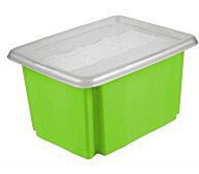 Keeeper Emil & Emilia Úložný box s víkem zelený 38x29x20,5cm 15L