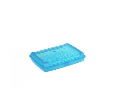 Keeeper Luca Svačinový box modrý 17x13x3,5cm 0,5L