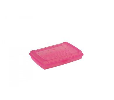 Keeeper Luca Svačinový box růžový 17x13x3,5cm 0,5L