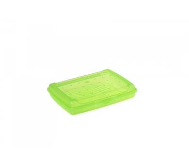 Keeeper Luca Svačinový box zelený 17x13x3,5cm 0,5L