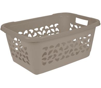Keeeper Koš na čisté prádlo jost 52l taupe