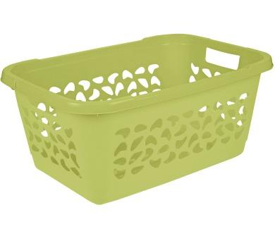 Keeeper Koš na čisté prádlo jost 52l zelený