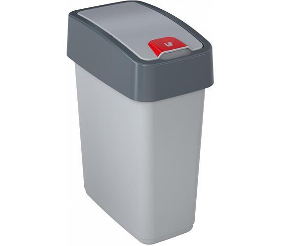 Keeeper Magne Odpadkový koš s víkem světle šedá 10L