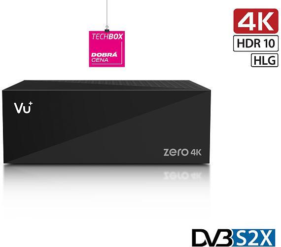 VU+ ZERO 4K 1x single DVB-S2X tuner (VU+ ZERO 4K DVB-S2X)
