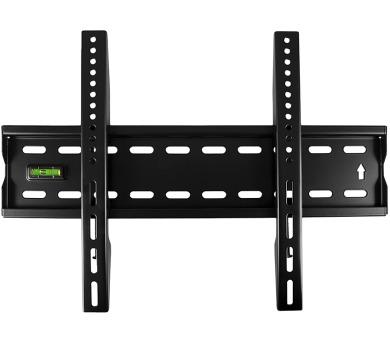 """4W Fixní držák pro LCD 17-43"""" SLIM nosn. 40kg BLK (07458-BLK)"""