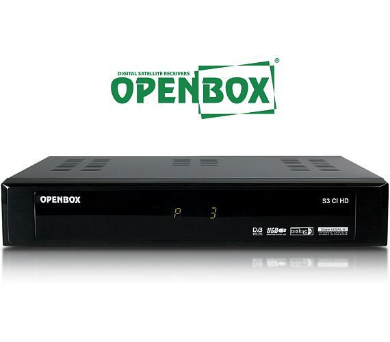Openbox S3 CI HD (OPE S3 CI HD) + DOPRAVA ZDARMA