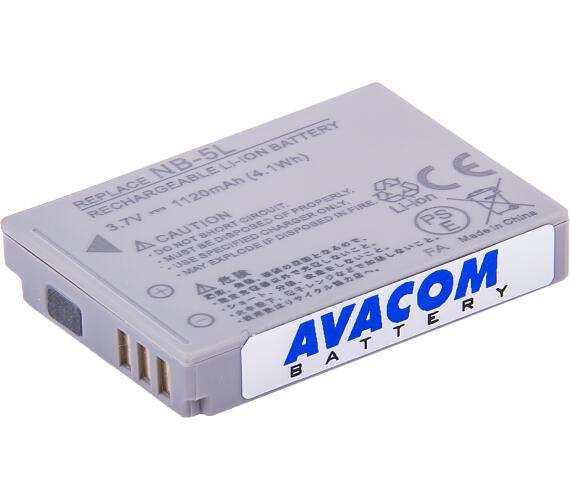 AVACOM Canon NB-5L Li-ion 3.7V 1120mAh 4.1Wh