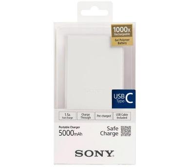 Sony Powerbank CP-V5BWC bílý + DOPRAVA ZDARMA