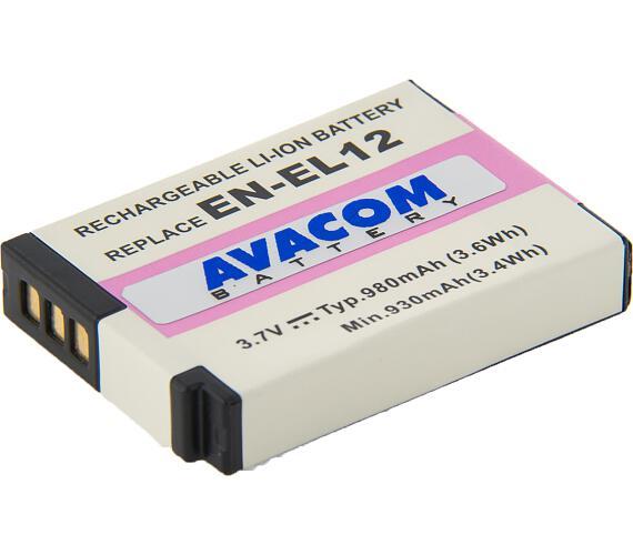 AVACOM Nikon EN-EL12 Li-Ion 3.7V 980mAh