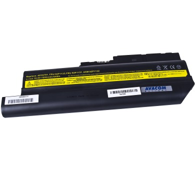 AVACOM NOIB-R60h-806 pro IBM ThinkPad R60/T60/Z60 Li-Ion 10,8V 7800mAh/84Wh + DOPRAVA ZDARMA
