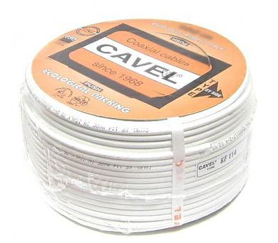 Kábel koaxiálny Cavel KF 114 250m (KAB KO CAV KF114 250) + DOPRAVA ZDARMA
