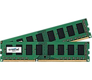 Crucial CL11 UDIMM kit 1.35V/1.5V
