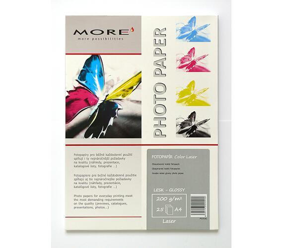 Armor hlazený ColorLaser papír 200g/m2 25xA4 gloss
