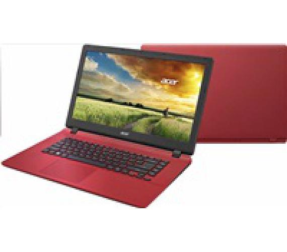 "ACER NTB Aspire ES 17 ES1-732-C02L - Intel Celeron N3350,17.3""HD mat,4GB,1TB HDD,HD graphics,čt.karet,DVD,cam,W10H,red (NX.GH5EC.002)"