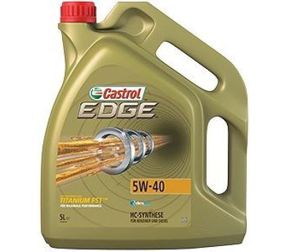 Castrol EDGE 5W40 TITANIUM FST 5L