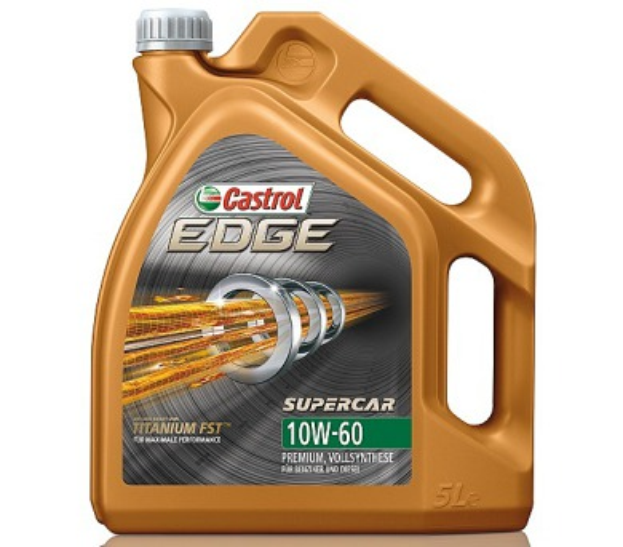 Castrol EDGE TITANIUM FST SUPERCAR 10W60 5L