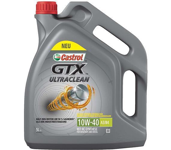 Castrol GTX ULTRACLEAN 10W40 A3/B4 5L