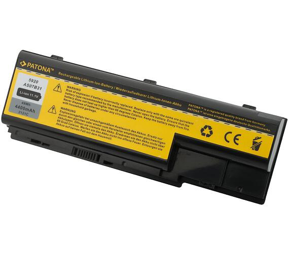 PATONA baterie pro ntb ACER ASPIRE 5220 / 5920 4400mAh Li-Ion 11,1V (PT2121) + DOPRAVA ZDARMA