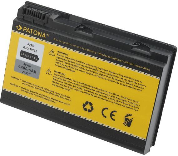 PATONA baterie pro ntb ACER EXTENSA 5220/5620 4400mAh Li-Ion 11,1V + DOPRAVA ZDARMA