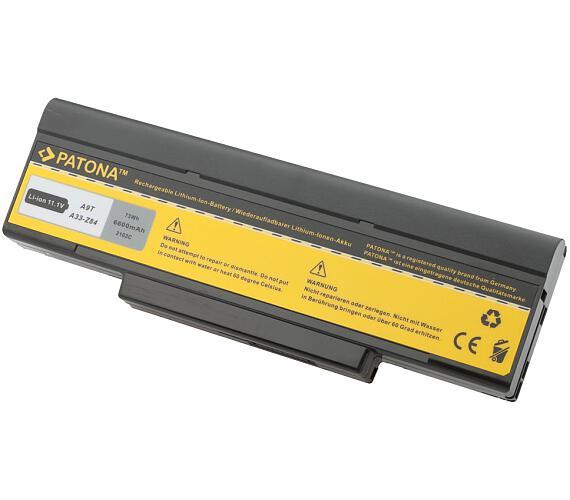 PATONA baterie pro ntb ASUS A9/F3/ Z53 6600mAh Li-Ion 11,1V (PT2102) + DOPRAVA ZDARMA