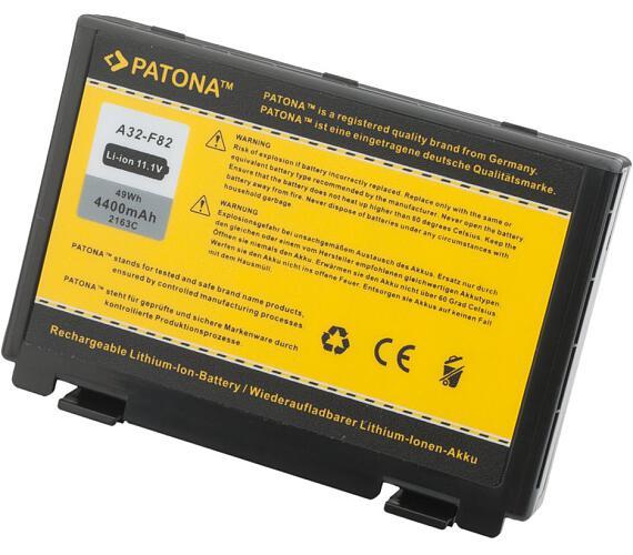PATONA baterie pro ntb ASUS K50ij 4400mAh 11,1V (PT2163) + DOPRAVA ZDARMA
