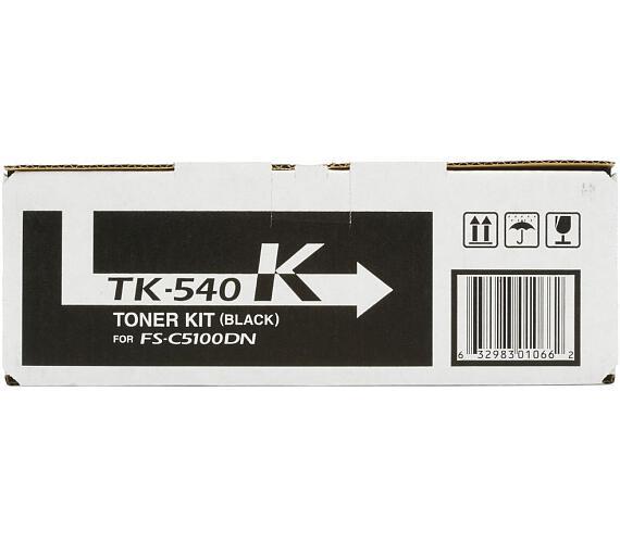 Kyocera toner TK-540K/ FS-C5100DN/ 5000 stran / Černý