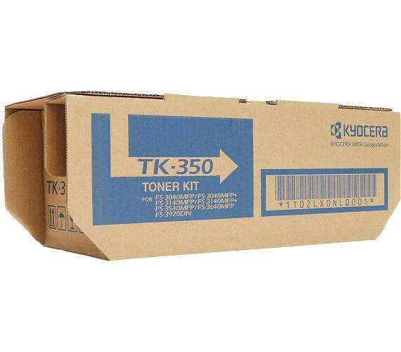 Kyocera toner TK-350/ FS-3920DN/ FS-3040MFP/ FS-3140MFP/ FS-3540MFP/ 15 000 stran/ Černý