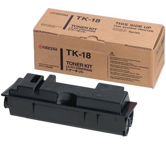 Kyocera toner TK-18/ FS-1020D/ 1018MFP/ 7200 stran/ Černý