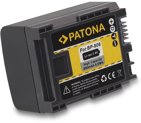 PATONA baterie pro foto Canon BP-808 890mAh (PT1083)