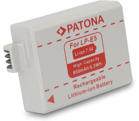 PATONA baterie pro foto Canon LP-E5 850mAh (PT1012)