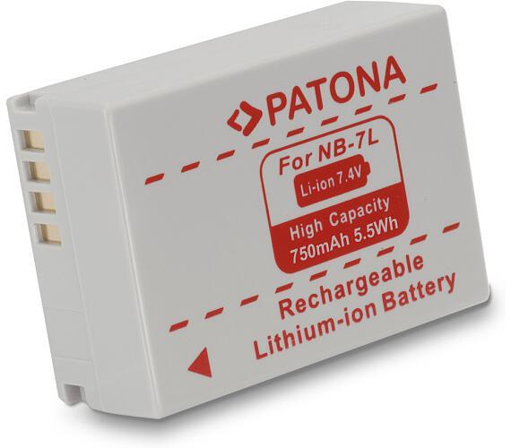 PATONA baterie pro foto Canon NB-7L 750mAh