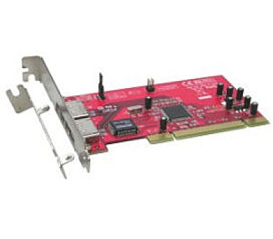 Kouwell ST-118/ 2x eSATA porty/ PCI adapter/ Low Profile