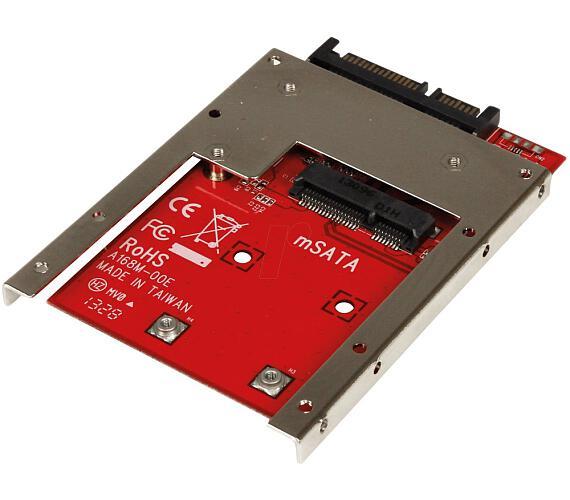 """Kouwell ST-168M mSATA SSD do 2,5"""" SATA Drive + rámeček"""