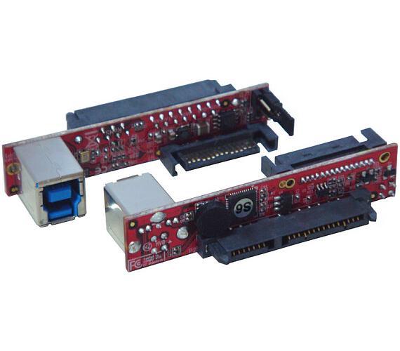 "Kouwell UB-128-3/ SATA III Drive to USB3.0 Mini vertikální most pro 2.5"" a 3.5"" jednotky"