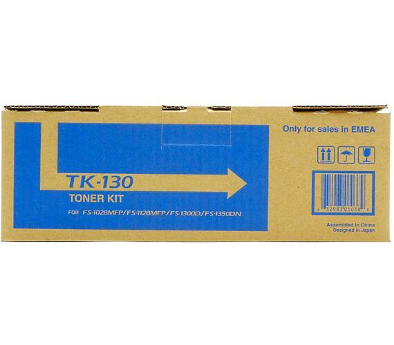 Kyocera toner TK-130/ FS-1300D/ FS-1350D/ 1028MFP/ 1128MFP/ 7200 stran/ Černá + DOPRAVA ZDARMA