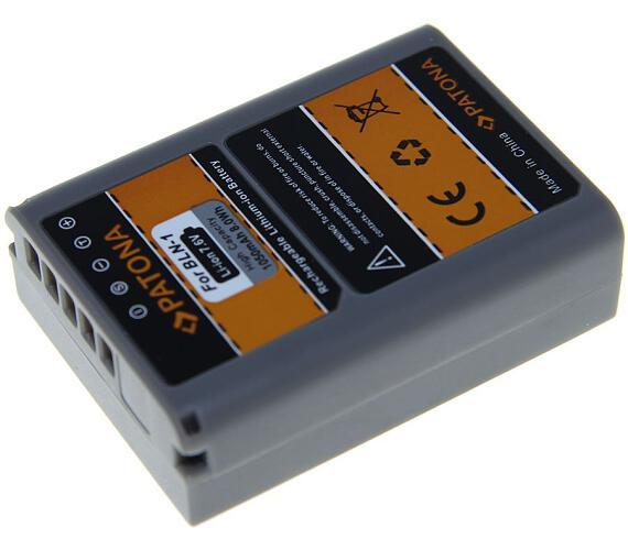 PATONA baterie pro foto Olympus PS-BLN1 1050mAh Li-Ion