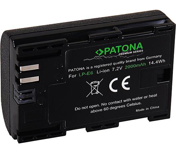 PATONA baterie pro foto Canon LP-E6 2040mAh Li-Ion Premium (PT1212)