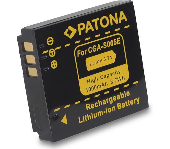 PATONA baterie pro foto Panasonic CGA-S005 1000mAh (PT1041)
