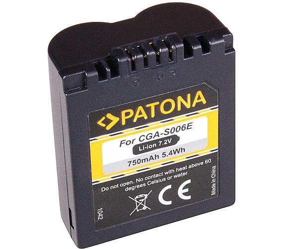 PATONA baterie pro foto Panasonic CGA-S006E 750mAh (PT1042)