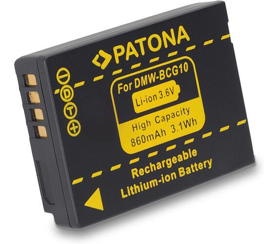 PATONA baterie pro foto Panasonic DMW-BCG10 860mAh