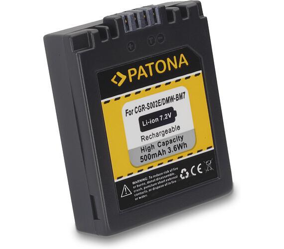 PATONA baterie pro foto Panasonic Lumix BM7 500mAh (PT1027)