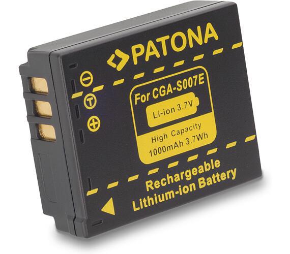 PATONA baterie pro foto Panasonic S007E Li-Ion 3.6V 1000mAh (PT1043)