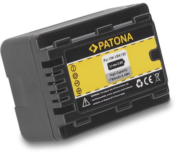 PATONA baterie pro digitální kameru Panasonic VBK180 1790mAh (PT1102)