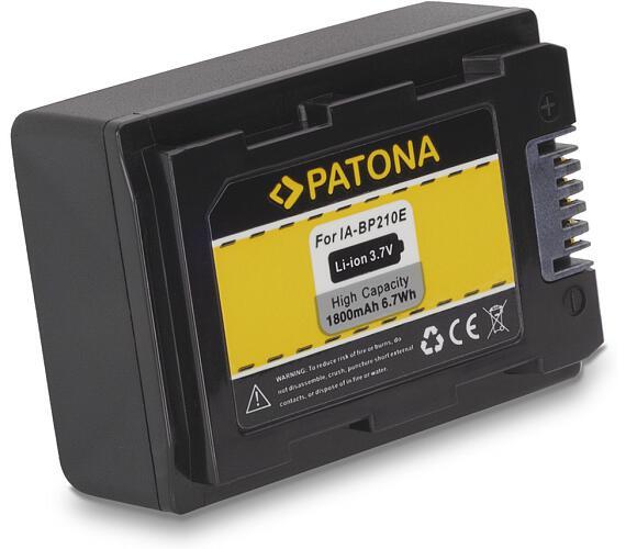 PATONA baterie pro digitální kameru Samsung IA-BP210E 1800mAh (PT1125)