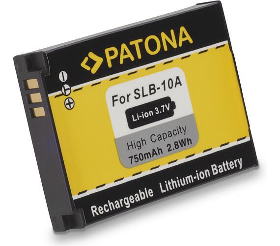 PATONA baterie pro foto Samsung SLB10A 750mAh (PT1082)